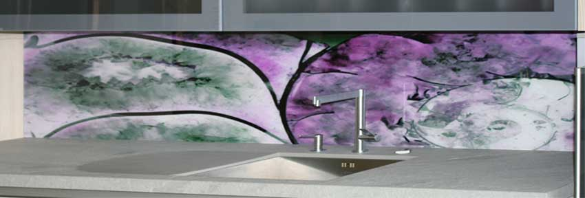 k che mit lila schnecke bild nr 0200173. Black Bedroom Furniture Sets. Home Design Ideas