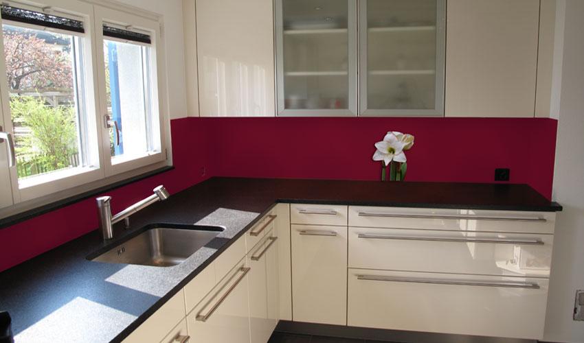 Küche Rote Wand ~ Logisting.Com = Varie Forme Di Mobili Idea E